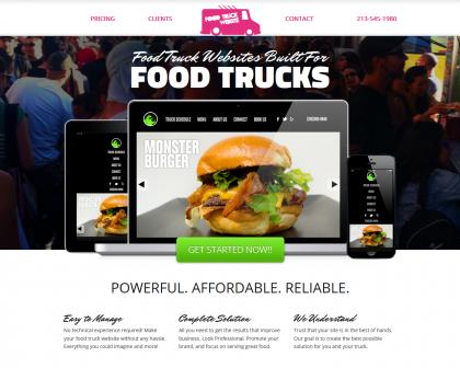 Food Truck Website